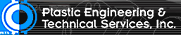 Plastic Engineering and Technical Services Incorporated Logo
